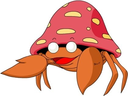 13. Parasect is actually two Pokemon, but the portion of the fungus as a parasite controls the crab.