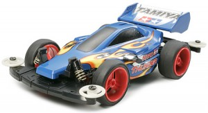Tamiya Mini 4WD Pro Series – Nitro Thunder Blue Model