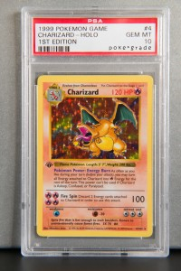 Top 10 Rarest and Most Expensive Pokemon Cards Of All Time: #6 Charizard First Edition