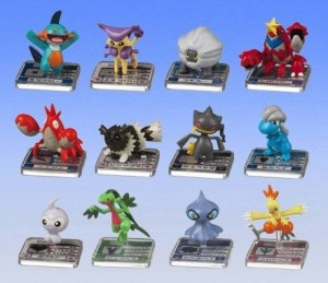 Other Pokemon figures: Pokedex or Full Color Advance Pokemon action figures