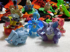 Other Pokemon figures: The Chou Getto figures