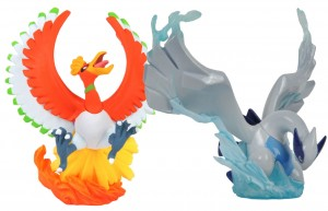 Other Pokemon figures: Ho-oh and Lugia are Pokemon figures by Kaiyodo
