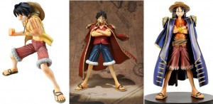 Monkey D. Luffy Figures