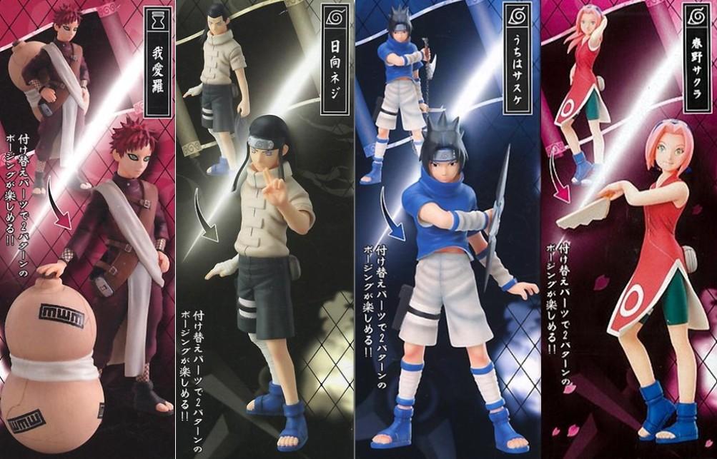 naruto action figures celebrating 15 years of ninja