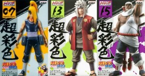 Banpresto Naruto- High Spec Coloring Figure + Shinobi Relations