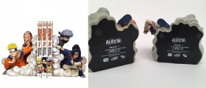 Limited Edition Toynami Naruto Bookends