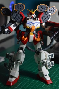 Gunpla: Gundam Wing Series Master Grade Heavy Arms EW (without decals applied)