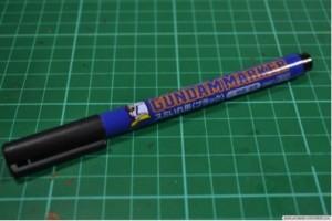 Gundam marker or COPIC Multiliner