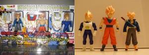 Bandai Super Battle Collection 3-Pack – Super Saiyan Goku, Vegeta, and Trunks