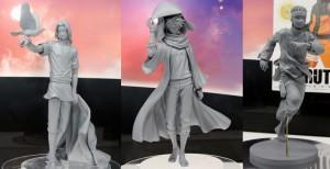 Naruto Megahouse G.E.M. Figures – Itachi, Hokage Kakashi, and Adult Naruto