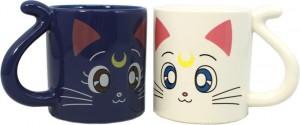 Sailor Moon – Luna and Artemis Mugs