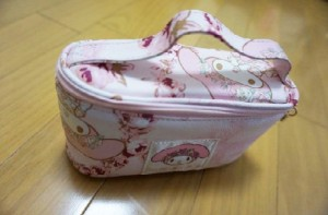 Liz Lisa Makeup Pouch and My Melody Blanket