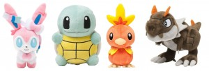 Limited Edition Pokemon Plushies: Slyveon, Fennekin, and Darkrai