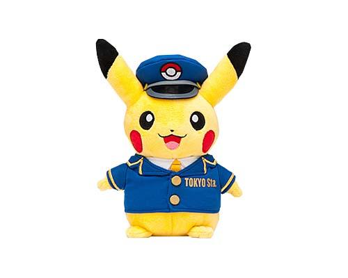 Tokyo Station Pokemon Pikachu plush