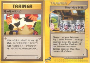Pokemon Cards: Moo-Moo Milk (Neo Genesis)
