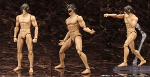 Attack on Titan's Eren Yeager Figma: Titan Version (Kotobukiya)