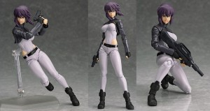 Ghost in the Shell Stand Alone Complex: Motoko Kusanagi (Figma)