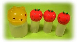 Mini Sauce Bottles