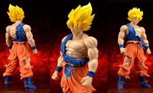 Dragon Ball Z – Super Saiyan Son Goku (Damage Ver.) Complete Figure