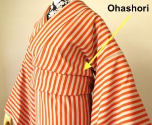 How to Wear a Kimono Ohashori