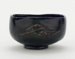 raku tea cup