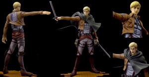 BRAVE-ACT - Attack on Titan: Erwin Smith 1/8 Figure