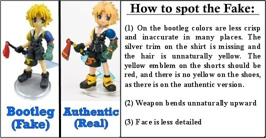 Bootleg Figures Revealed: How to Spot One Before Buying
