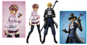 "Excellent Model: Portrait of Pirates – ONE PIECE ""Sailing Again"" Sabo and Koala 1/8 Figure"