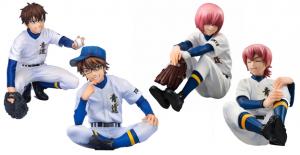 Palm Mate Series - Ace of Diamond: Ryosuke Kominato, Haruichi Kominato, Eijun Sawamura, and Kazuya Miyuki