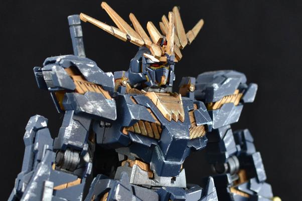 Gundam gunpla figurine