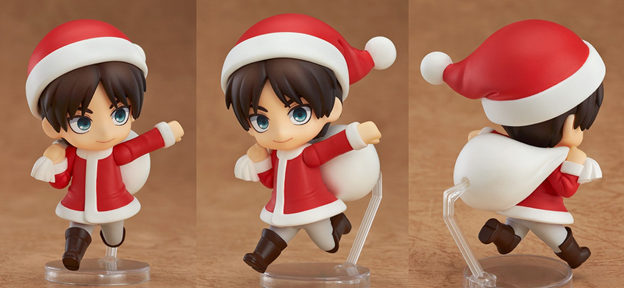 petite eren santa attack on titan
