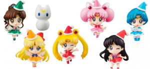 petite sailor moon Christmas figurine