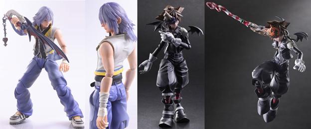 Play Arts Kai - Kingdom Hearts 2: Riku & Halloween Town Sora