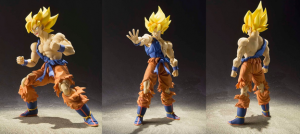 "S.H. Figuarts - Super Saiyan Son Gokou Super Warrior Awakening Ver. ""Dragon Ball Z"""