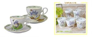 totoro tea set