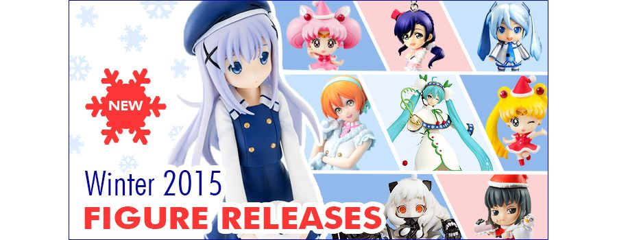 Christmas Anime Figures 2015: A Touch of Wonder in Winter
