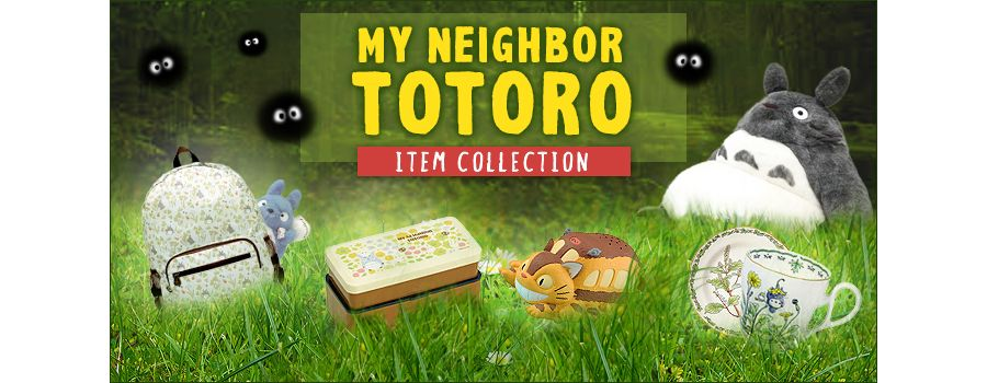 Totoro Merchandise that Recaptures Your Inner Child