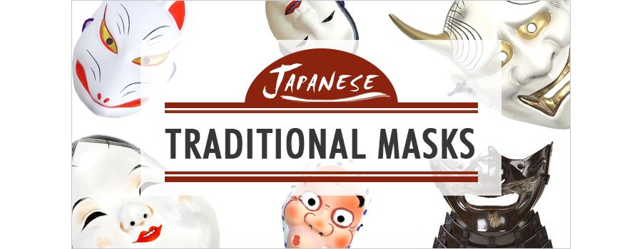 Traditional Japanese Masks
