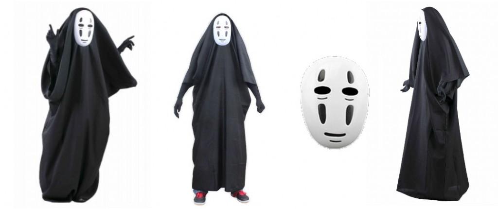 no face cosplay