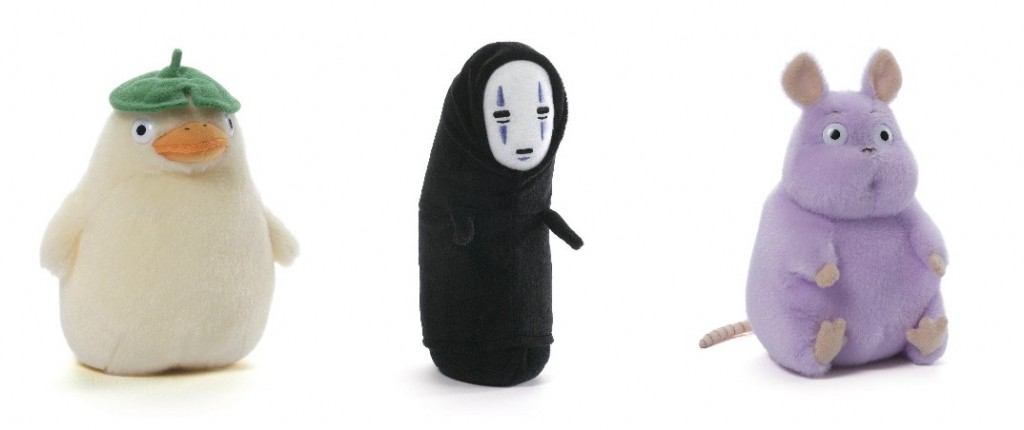 spirited away plush toys