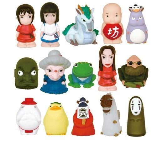 spirited away finger puppets