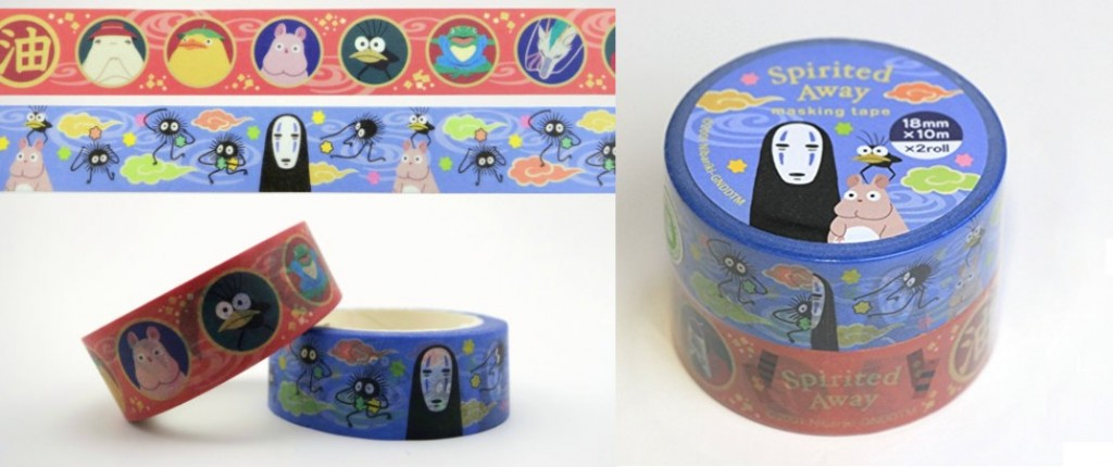 spirited away washi tape