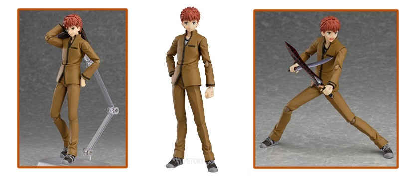 Figma - Fate/Stay Night [Unlimited Blade Works]: Shirou Emiya
