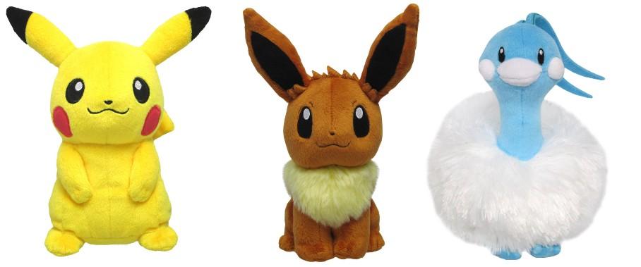 Limited Edition Pokemon 20th Anniversary Merch from Japan: Pokemon 20th Anniversary Plushies