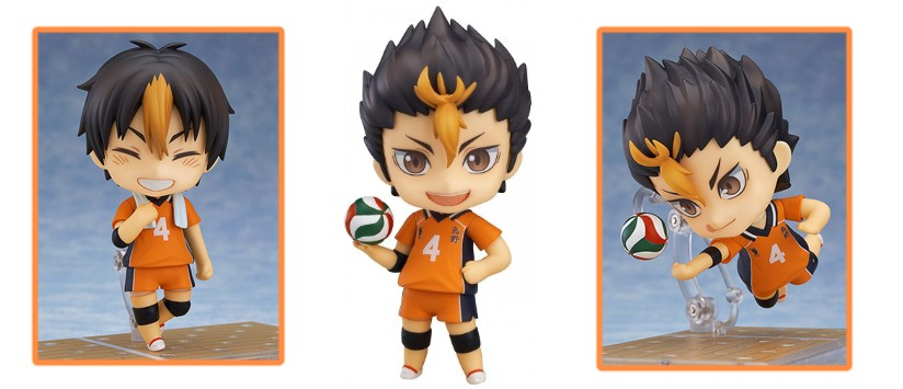 Nendoroid - Haikyuu!! Second Season: Yu Nishinoya