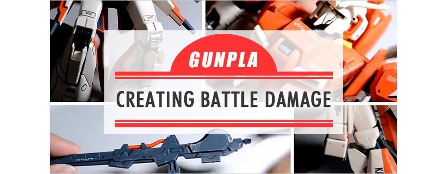 The Gunpla Weathering: Creating Realistic Battle Damage