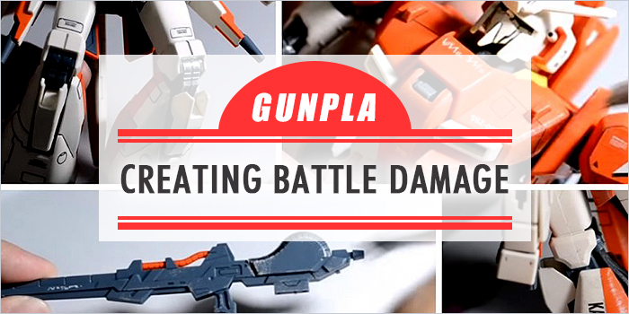 The Gunpla Weathering: Creating Realistic Battle Damage