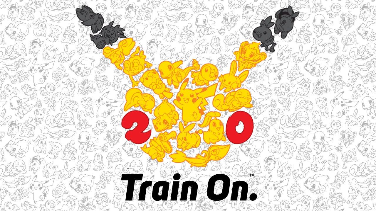 Pokemon 20th Anniversary: Train On.