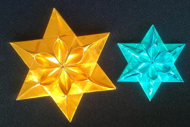 foil origami paper