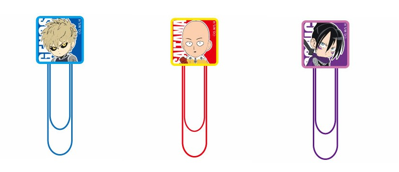 One Punch Man Paperclips
